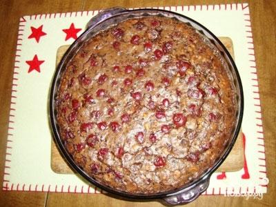 Постный пирог с вареньем - фото шаг 6