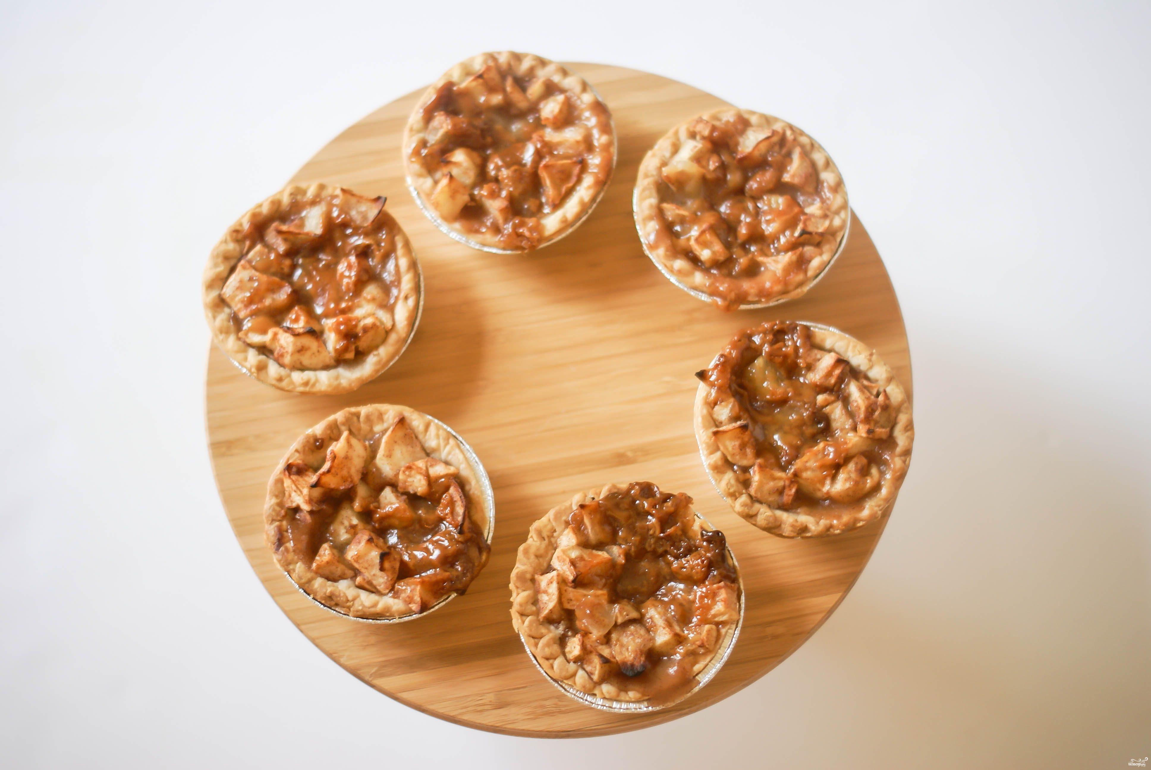 Тарталетки с яблоками