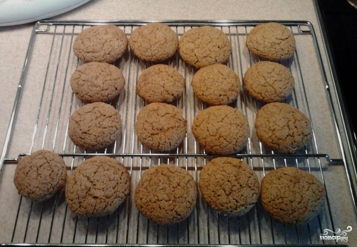 Овсяное печенье по ГОСТу - фото шаг 3
