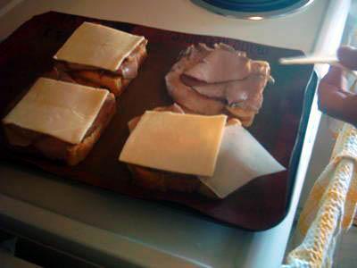 Бутерброды Ростбиф Азиаго - фото шаг 5