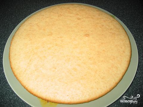 Персиковый торт - фото шаг 1