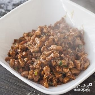 Китайские булочки с мясом - фото шаг 4