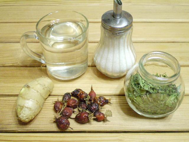 Рецепт Напиток с имбирем для иммунитета