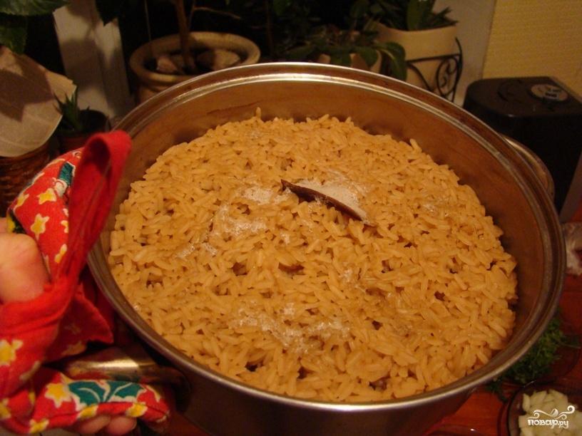 Рис в горшочке в духовке - фото шаг 1
