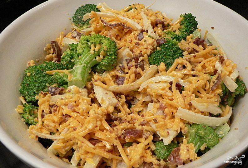 брокколи капуста рецепты приготовления салатов