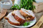 Запеченный рулет Поркетта из свинины