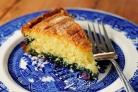 Лимонно-черничный пирог