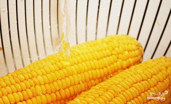Вареная кукуруза в початках - фото шаг 2