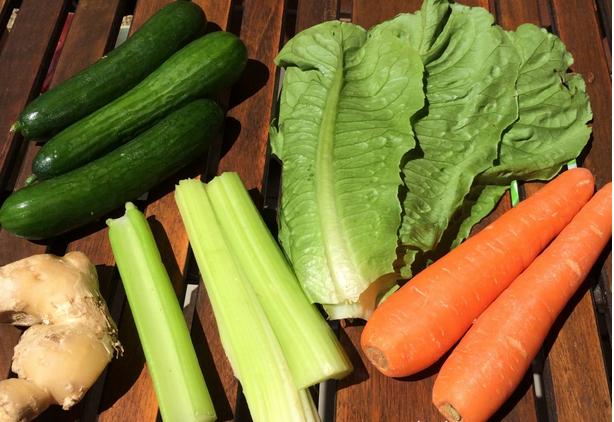 Рецепт Сок из зелени