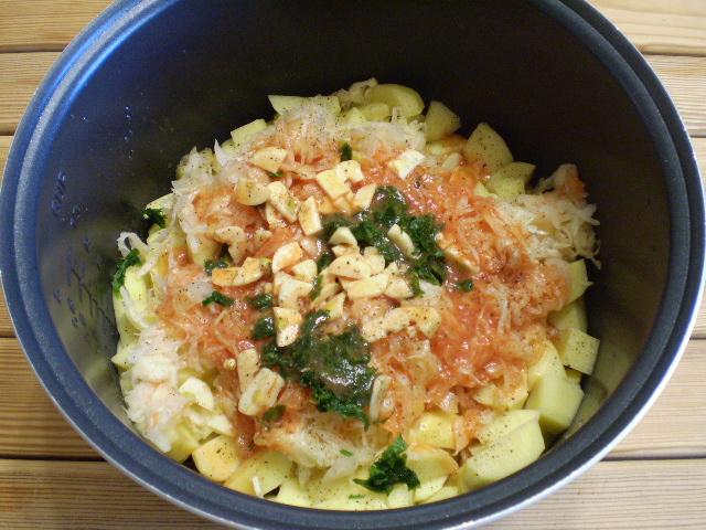 Рагу из овощей в мультиварке - фото шаг 6