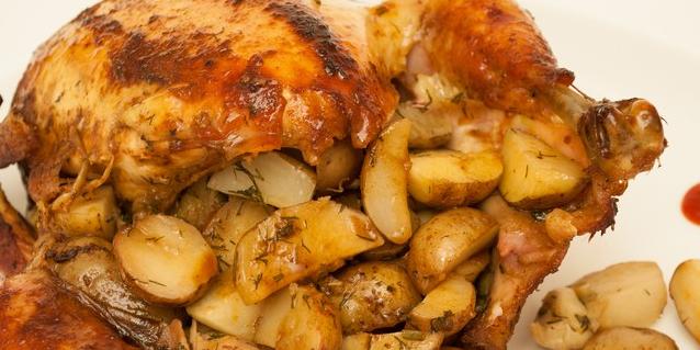 курица в духовке рецепты с фото в фольге с овощами