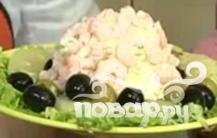 """Сырный салат """"Утро на Масличной горе"""" - фото шаг 2"""