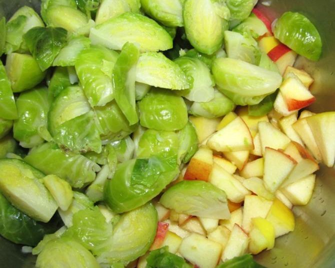 рецепты из капусты брюссельской с фото