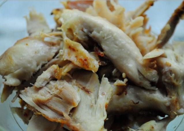Суп с курицей и креветками - фото шаг 3