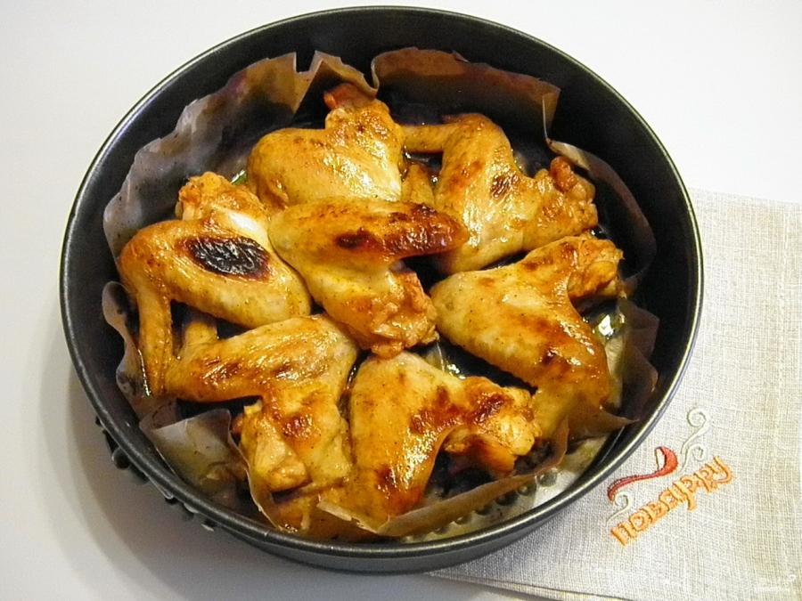 Куриные крылышки в медовом соусе - фото шаг 5