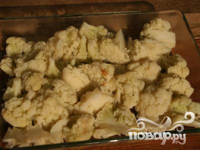 Запечённая цветная капуста с сыром - фото шаг 7