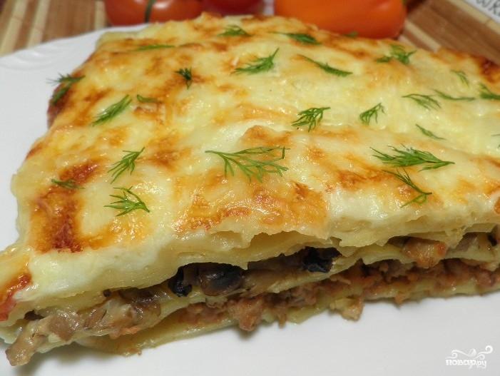 рецепт приготовления лазаньи с фаршем