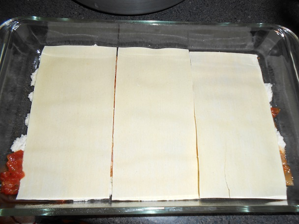 Лазанья с креветками - фото шаг 11