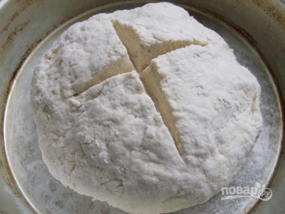 Бездрожжевой хлеб без закваски - фото шаг 3