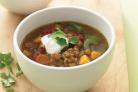Суп с чечевицей и сладким картофелем