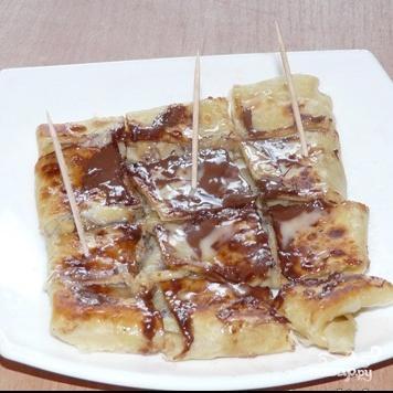 Тайские банановые блинчики рецепт с фото