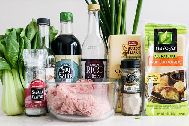 Рецепт Суп с вонтонами