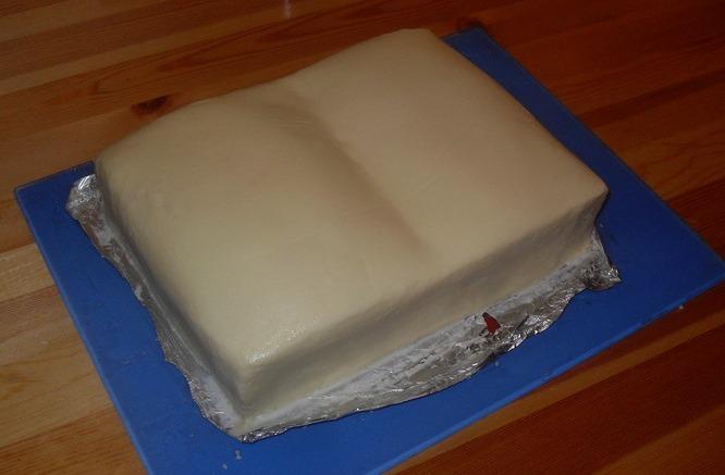 """Торт """"Книга"""" - фото шаг 7"""