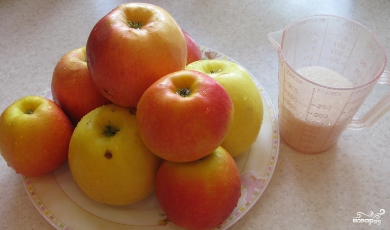 Рецепт Компот из яблок для детей