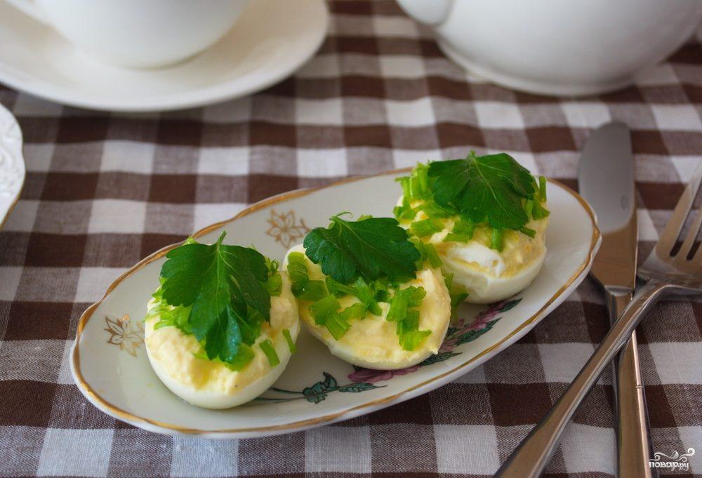 Яйца с начинкой