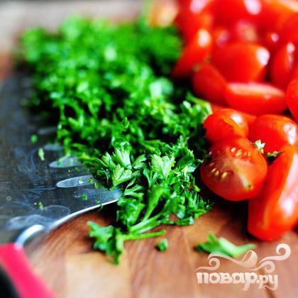Паста салат с помидорами, цукини, и сыром Фета - фото шаг 7