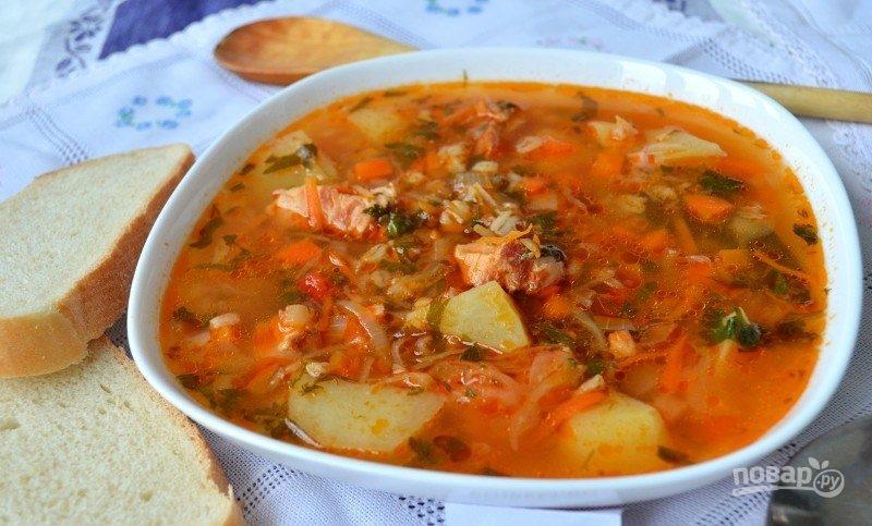 рецепты суп харчо на костре