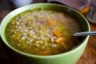 Рыбный суп из консервов с гречкой