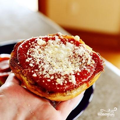 Пицца-бургер - фото шаг 12