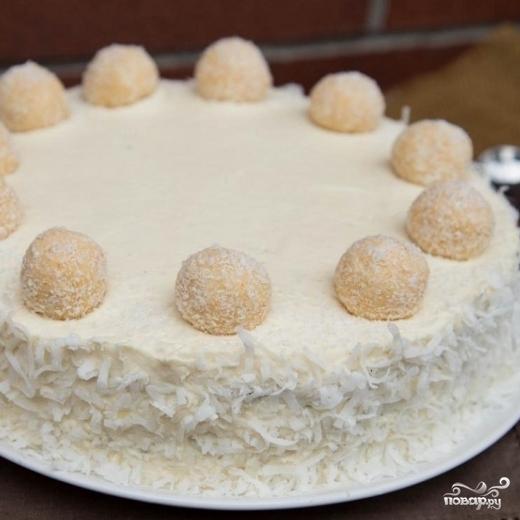 "Торт ""Рафаэлло"" - фото шаг 11"