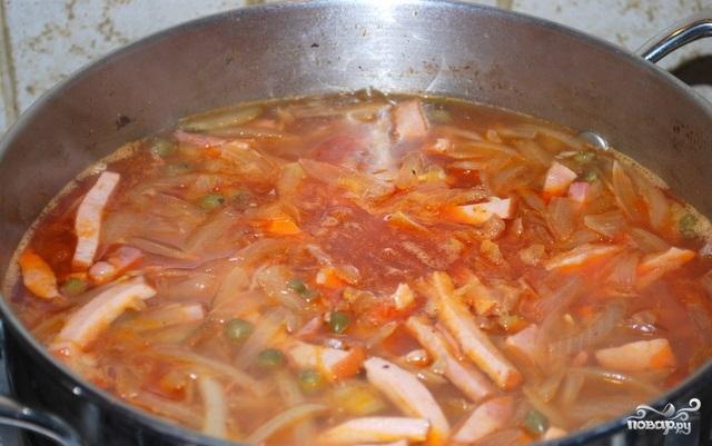 солянка из говядины рецепт с фото пошаговый рецепт
