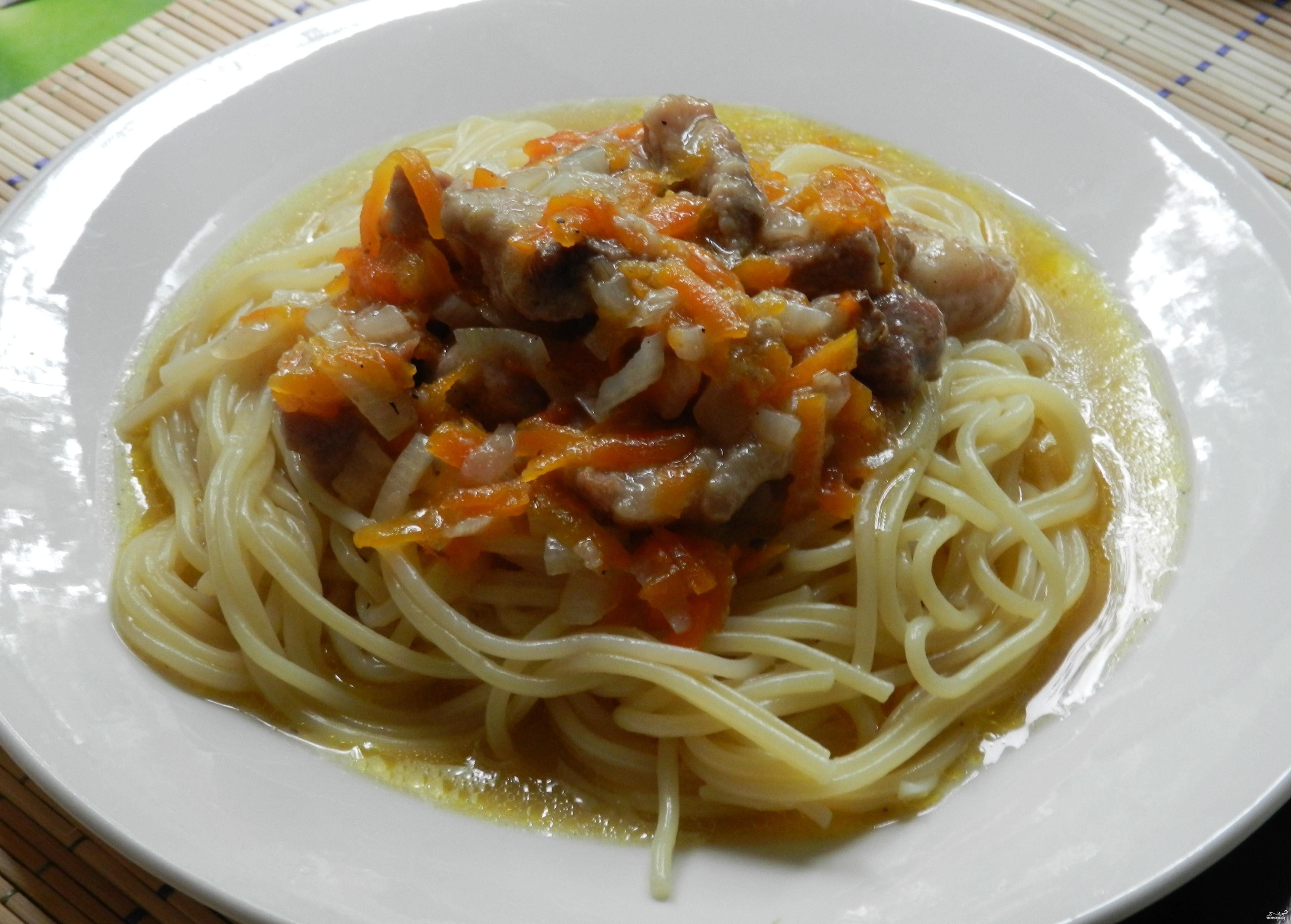 макароны на мультиварке филипс рецепты