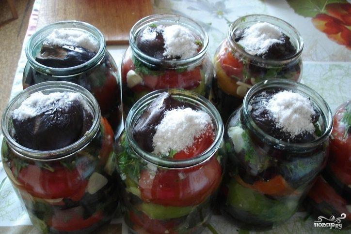 Рецепт Баклажаны по-осетински