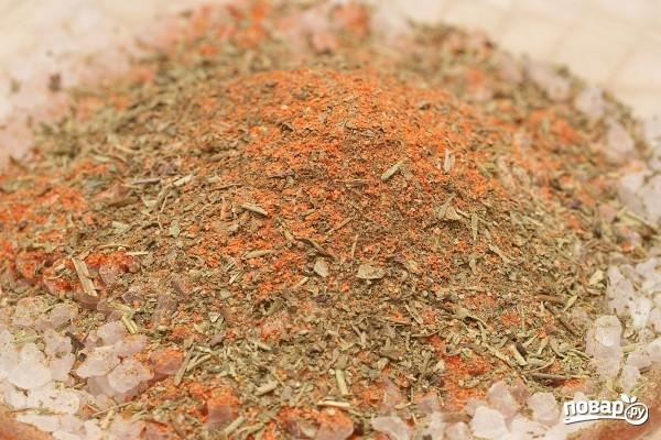 Салат с карпаччо из курицы - фото шаг 2