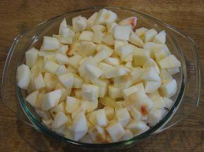 Ржаная шарлотка с яблоками - фото шаг 1