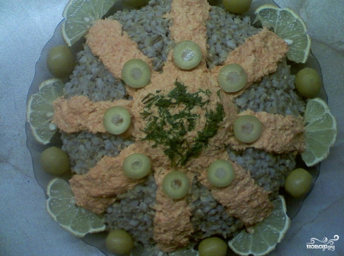 Салат из перловки - фото шаг 6