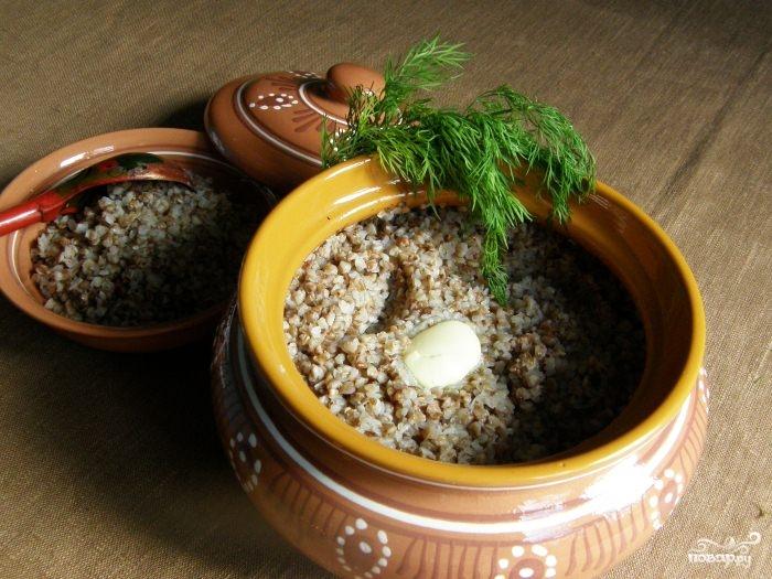 гречка с чесноком в духовке рецепт