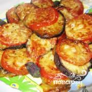 баклажаны кольцами в духовке рецепты с фото