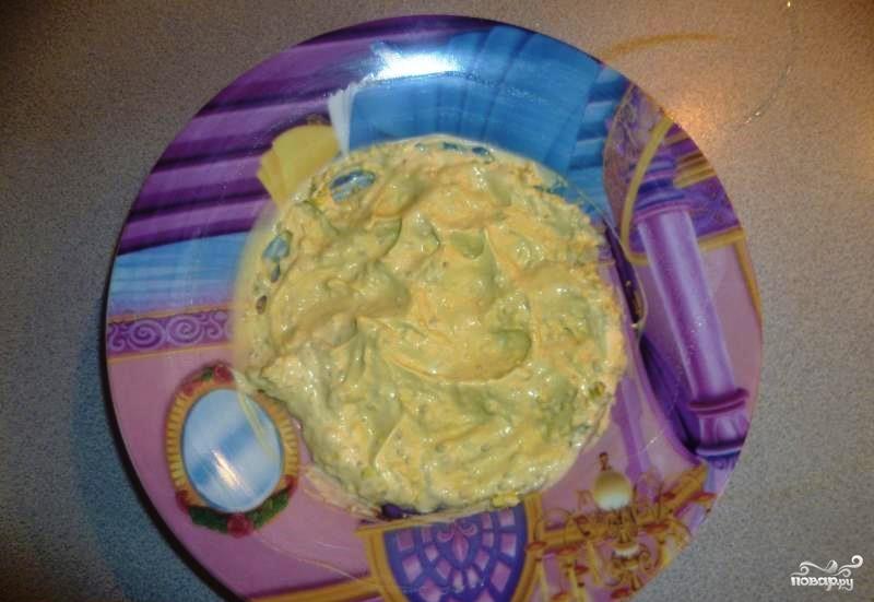 Салат из свежей капусты с яйцом - фото шаг 2