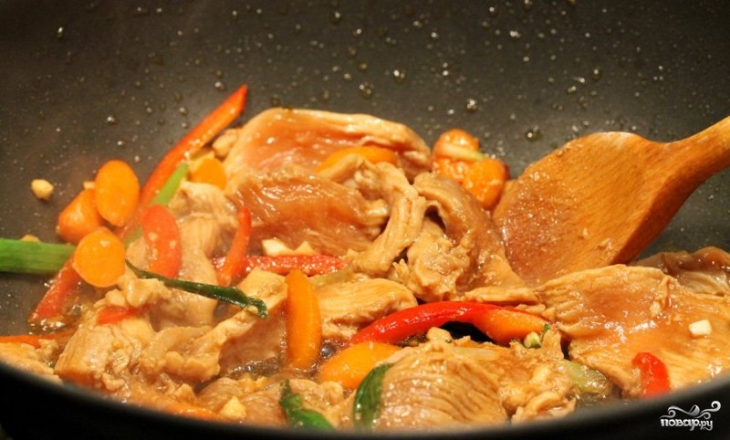 Курица по-болгарски - фото шаг 9