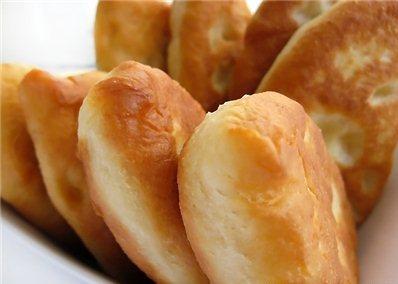 с пирожки картошкой на Тесто
