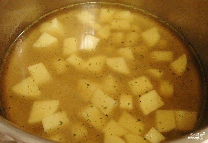 Крем-суп из петрушки - фото шаг 2