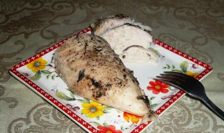 грудка куринная на пару Готовим в пароварке. Куриная грудка с овощами в пароварке ...