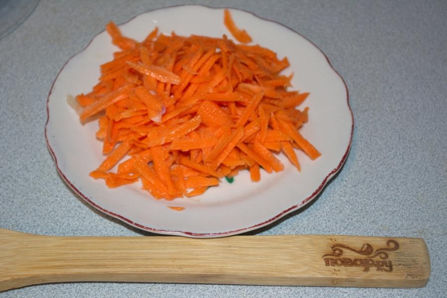Курица с овощами и кашей - фото шаг 1