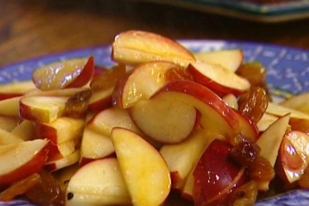 Рецепт Яблочный штрудель с изюмом