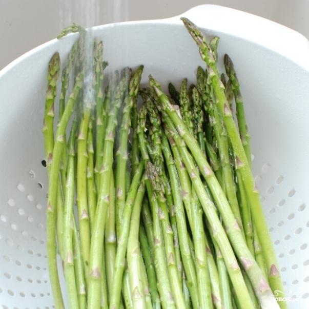 Рецепт Жареная спаржа в бальзамическом соусе